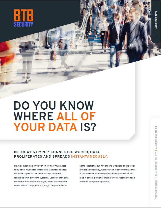 Do you know where all of your data is?
