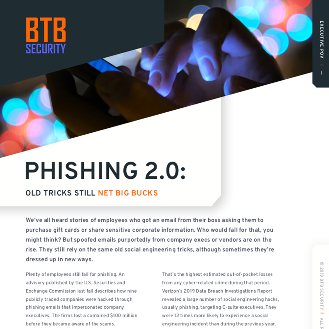Phishing 2.0: Old tricks still net big bucks