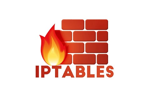 linux iptables logo